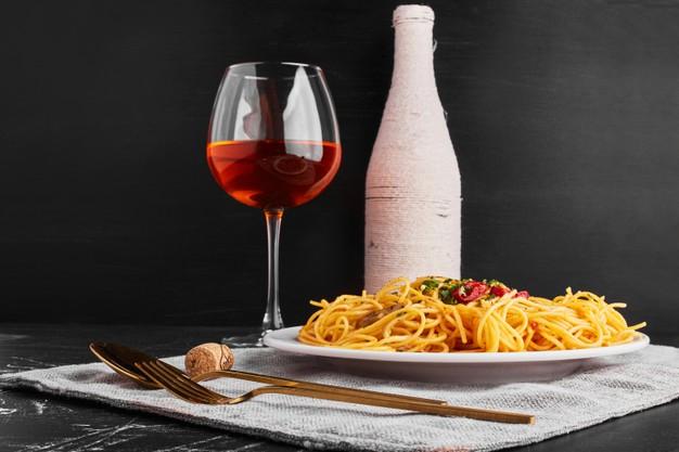 rosé og pasta